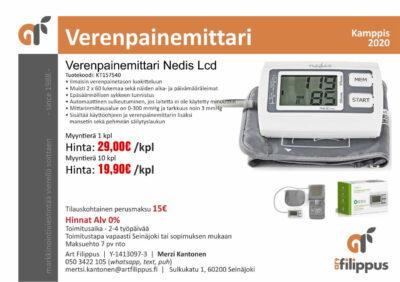 Verenpaineen mittaus kätevästi