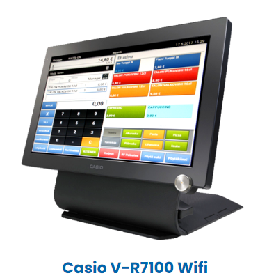 Casio Android kassajärjestelmä_kategoria