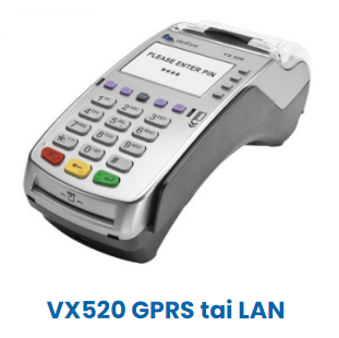 VX520 GPRS tai LAN